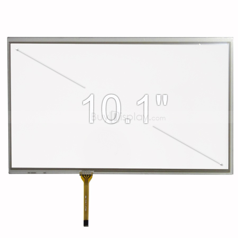 TFT LCD 모듈, 10.1인치, 4-Wire Resistive Touch Panel Screen, ER-TP101-1