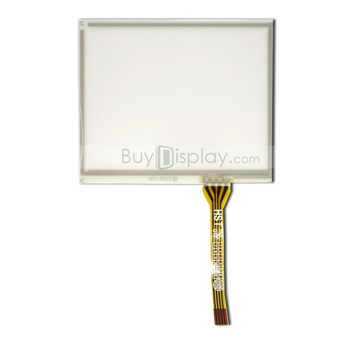 TFT LCD 모듈, 3.5인치, 해상도 320x240, 4 Wire Resistive Touch Screen Panel, ER-TP035-1