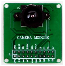 OV7670 CMOS Camera for Rabbit 개발보드