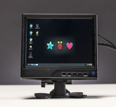 HDMI 4 파이 - 7 인치 디스플레이 1280x800 (720p) IPS - HDMI, VGA, PAL, NTSC / HDMI 4 Pi - 7 inch Display 1280x800 (720p) IPS - HDMI, VGA, PAL, NTSC [1033]