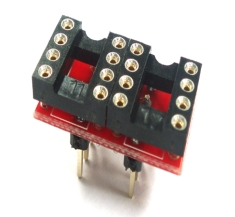 [OP908-R] Single to Dule Op-Amp Dip Adapter-R
