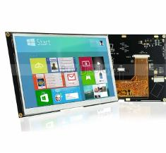 7 inch LCD Module w/Optional Capacitive Touch Screen Panel,I2C/SPI 3.3V용
