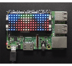 Raspberry Pi 용 Pimoroni Unicorn HAT Mini-PIM498[4637]