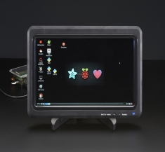 10.1 인치 1366x768 디스플레이 IPS + Speakers - HDMI, VGA, NTSC, PAL / 10.1 inch 1366x768 Display IPS + Speakers - HDMI, VGA, NTSC, PAL [2261]