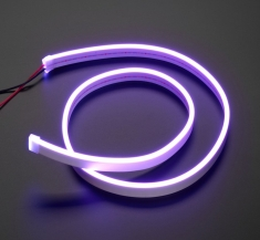 휘어지는 유연한 네온 LED Neon-Like LED Strip - 1 Meter - Purple