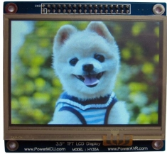 3.5 Touch Screen TFT LCD with 16 bit parallel interface