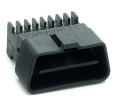 Connector Shell, J1962M, Black