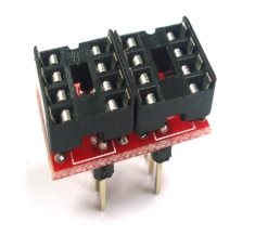 [OP908-D] Single to Dule Op-Amp Dip Adapter-D