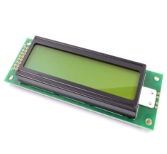 캐릭터 LCD / 20x2 / Yellow/Green / ABC020002A08-YIY-R