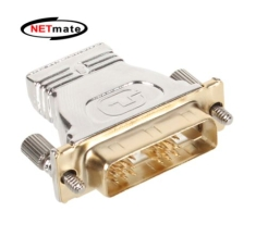 NETmate HDMI to DVI 젠더 (풀 메탈)