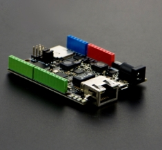 POE 컨트롤 보드 장착 W5500 이더넷 (아두이노 호환) / W5500 Ethernet with POE Control Board(Arduino Compatible) [DFR0342]