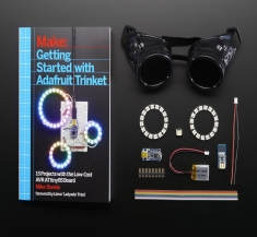 Getting Started with Trinket Book + NeoPixel Goggles Pack [2290]