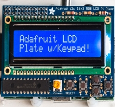 라즈베리 파이용 키패드 키트 Blue&White 16x2 LCD / Adafruit Blue&White 16x2 LCD+Keypad Kit for Raspberry Pi [1115]