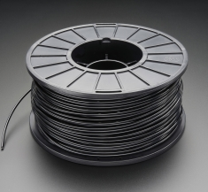 3D 프린터용 ABS 필라멘트(1.75mm/검정색) / ABS Filament for 3D Printers - 1.75mm Diameter - Black - 1KG [2065]