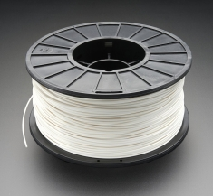 3D 프린터용 ABS 필라멘트(1.75mm/흰색) / ABS Filament for 3D Printers - 1.75mm Diameter - White - 1KG [2069]