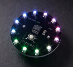 LED 아티스트 A12 (RGB LED 부착 가능) / The LED Artist A12 - RGB LED Wearable [1574]